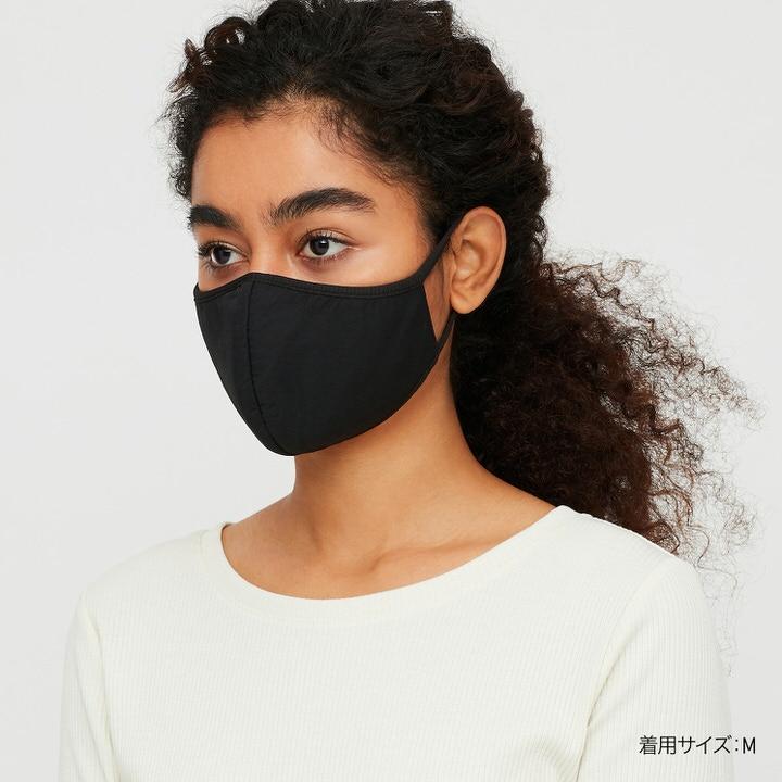 黒色のエアリズムマスク情報